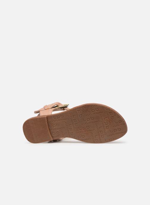 Sandales et nu-pieds Les P'tites Bombes Thalie Beige vue haut