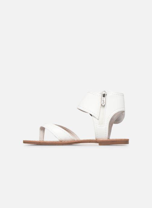 Sandales et nu-pieds Les P'tites Bombes Thalie Blanc vue face