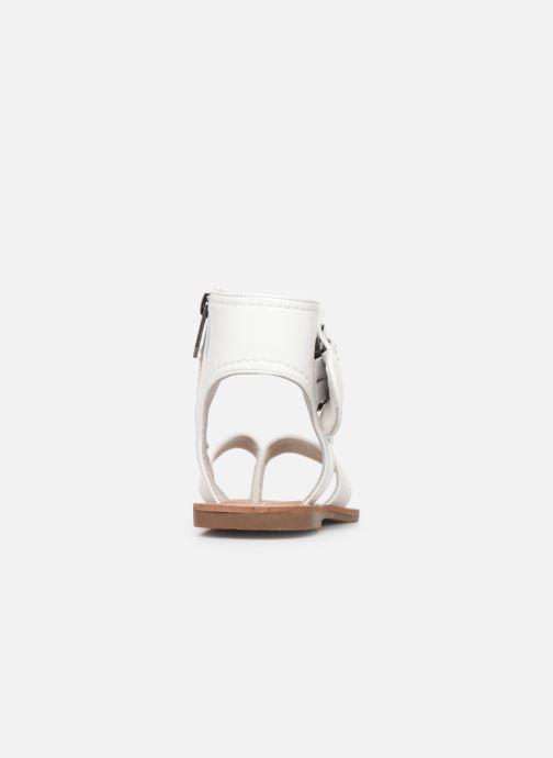 Sandales et nu-pieds Les P'tites Bombes Thalie Blanc vue droite