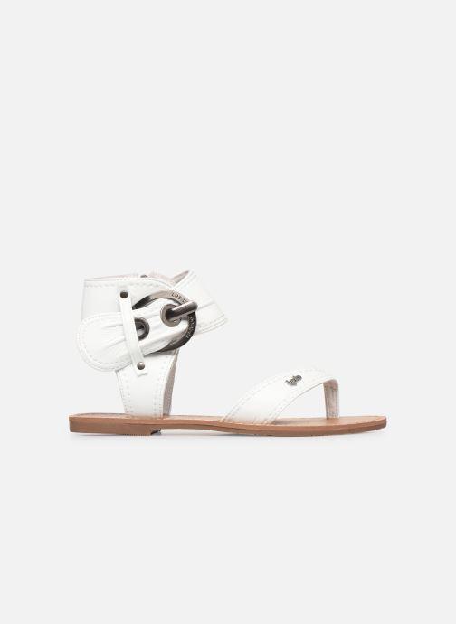 Sandales et nu-pieds Les P'tites Bombes Thalie Blanc vue derrière