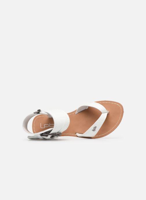 Sandales et nu-pieds Les P'tites Bombes Thalie Blanc vue gauche