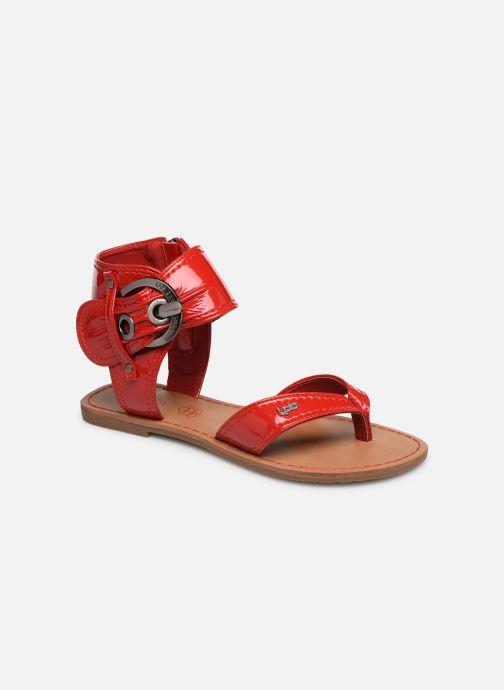Sandales et nu-pieds Les P'tites Bombes Thalie Rouge vue détail/paire
