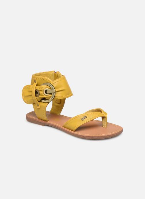 Sandales et nu-pieds Les P'tites Bombes Thalie Jaune vue détail/paire
