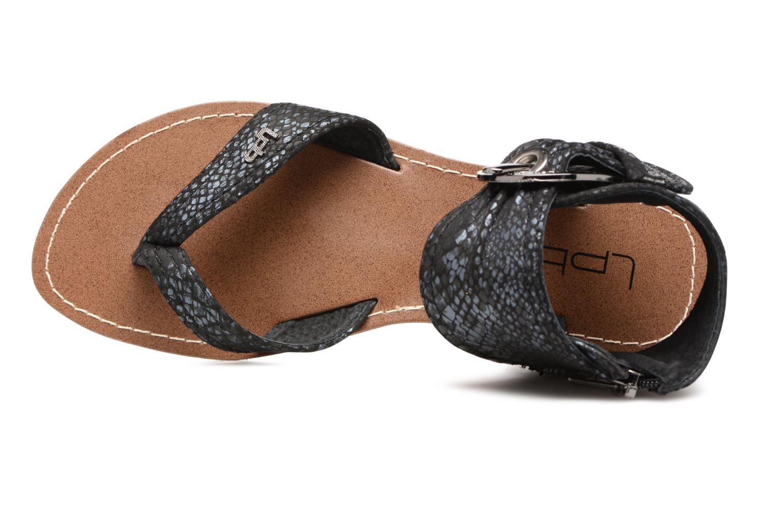 Sandales et nu-pieds Les P'tites Bombes Thalie Noir vue gauche