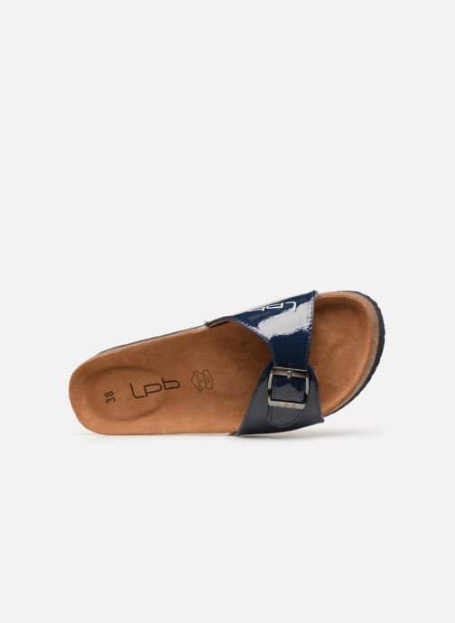 Mules & clogs Les P'tites Bombes OPALINE Blue view from the left