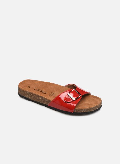 Clogs og træsko Les P'tites Bombes OPALINE Rød detaljeret billede af skoene