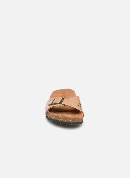Clogs & Pantoletten Les P'tites Bombes OPALINE beige schuhe getragen