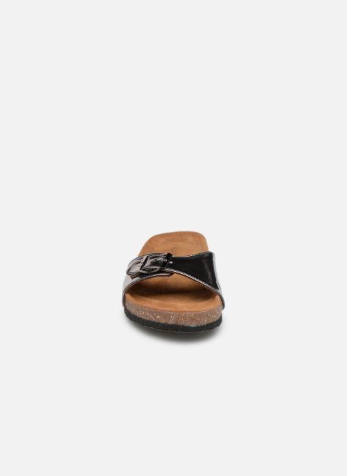 Mules et sabots Les P'tites Bombes OPALINE Gris vue portées chaussures
