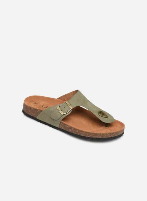 Flip flops & klipklapper Les P'tites Bombes Zelda Grøn detaljeret billede af skoene