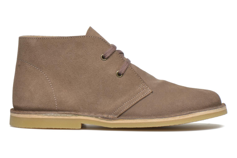 Chaussures à lacets Start Rite Colorado II Beige vue derrière