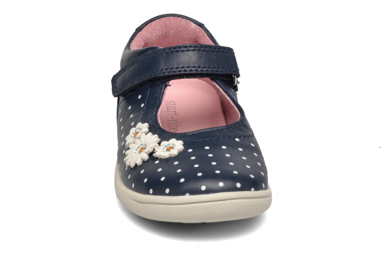 Ballerines Start Rite Daisy Bleu vue portées chaussures