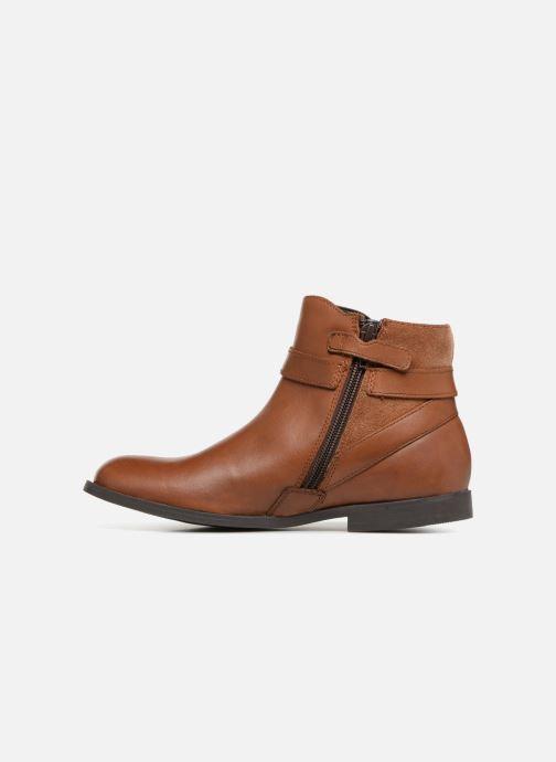 Boots en enkellaarsjes Start Rite Imogen Bruin voorkant