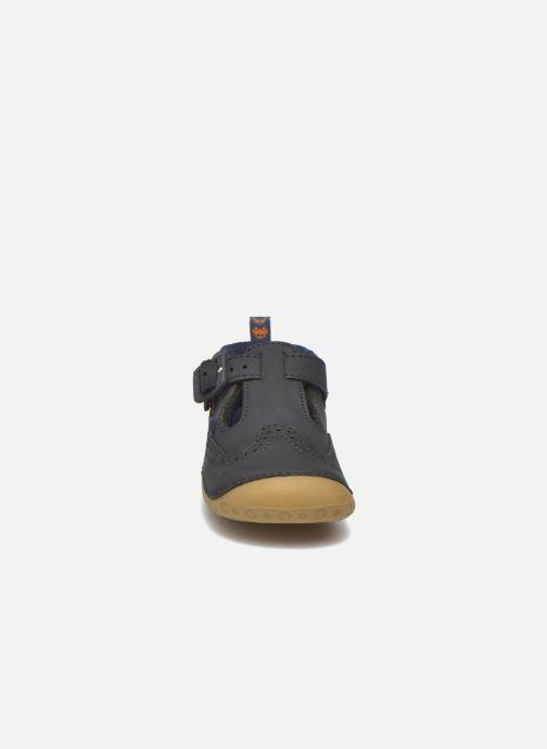 Chaussons Start Rite Harry Bleu vue portées chaussures