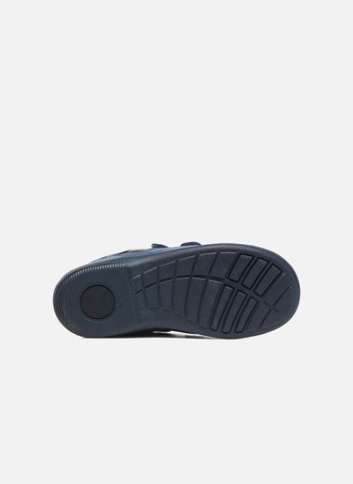 Zapatos con velcro Start Rite Leo Azul vista de arriba