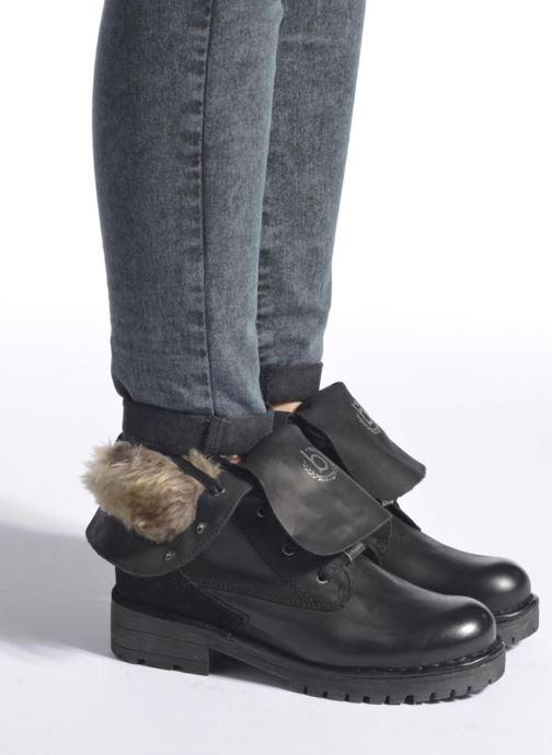 Bottines et boots Bugatti Jacky Revo Noir vue bas / vue portée sac