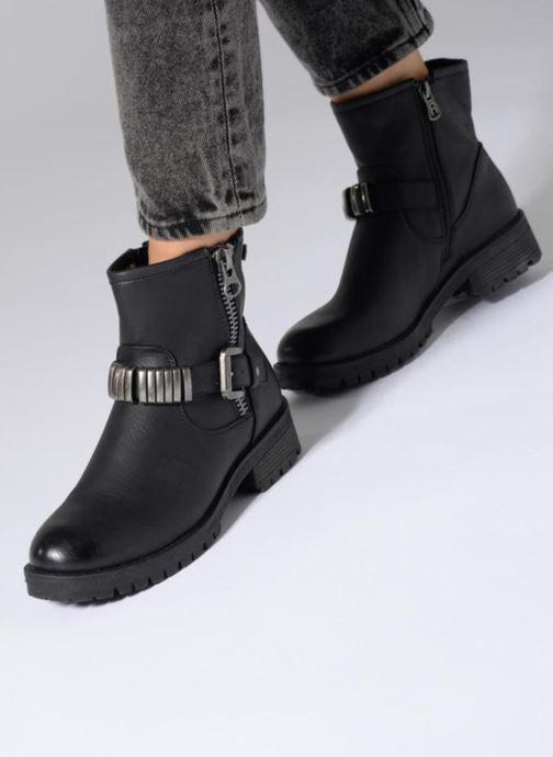 Bottines et boots Refresh Marion-62163 Noir vue bas / vue portée sac