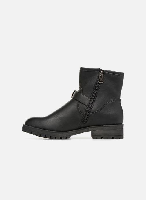 Boots en enkellaarsjes Refresh Marion-62163 Zwart voorkant