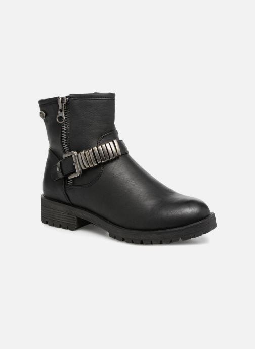 Boots en enkellaarsjes Refresh Marion-62163 Zwart detail