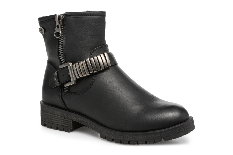 Bottines et boots Refresh Marion-62163 Noir vue détail/paire