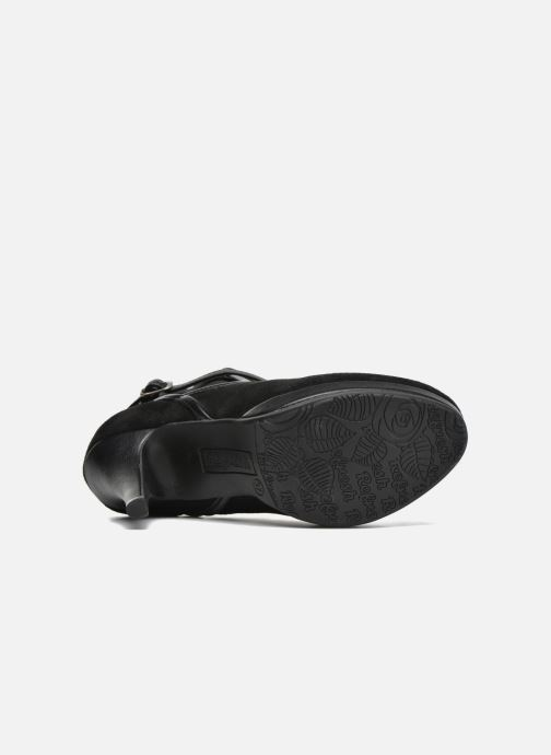 Bottines et boots Refresh Nelio-61228 Noir vue haut