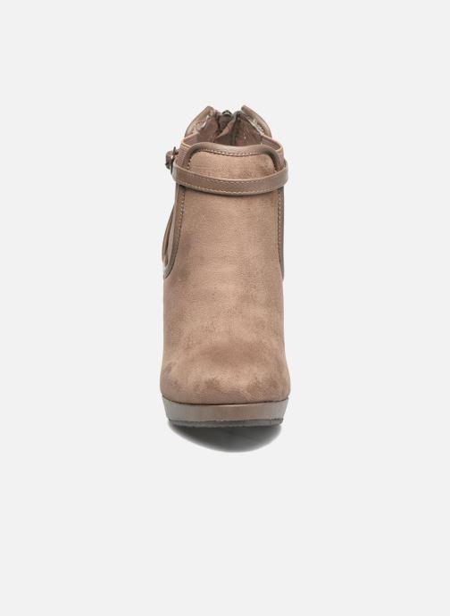 Bottines et boots Refresh Nelio-61228 Marron vue portées chaussures