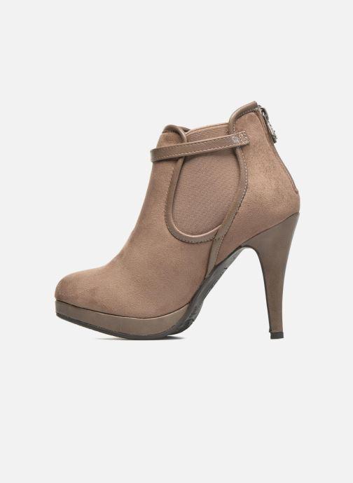 Stiefeletten & Boots Refresh Nelio-61228 braun ansicht von vorne