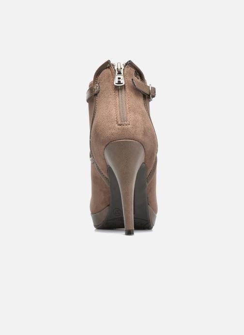 Stiefeletten & Boots Refresh Nelio-61228 braun ansicht von rechts