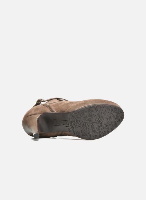 Stiefeletten & Boots Refresh Nelio-61228 braun ansicht von oben