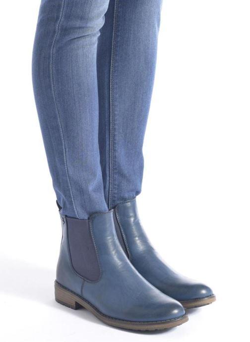 Bottines et boots Refresh Rain-61428 Bleu vue bas / vue portée sac