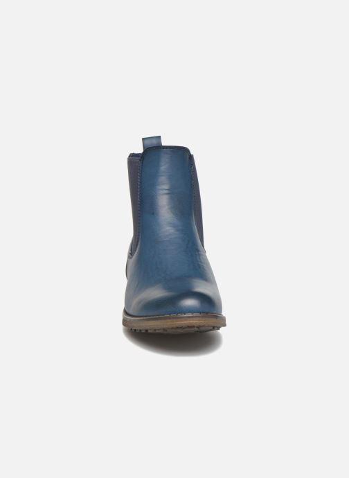 Botines  Refresh Rain-61428 Azul vista del modelo