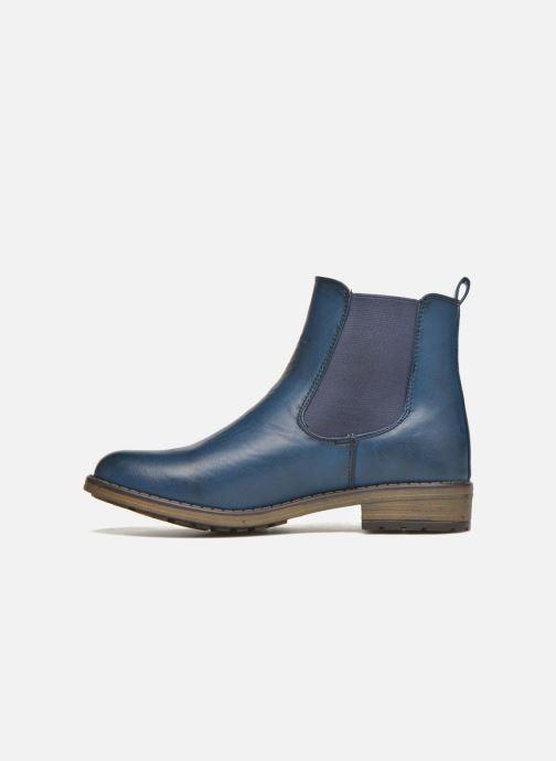 Botines  Refresh Rain-61428 Azul vista de frente