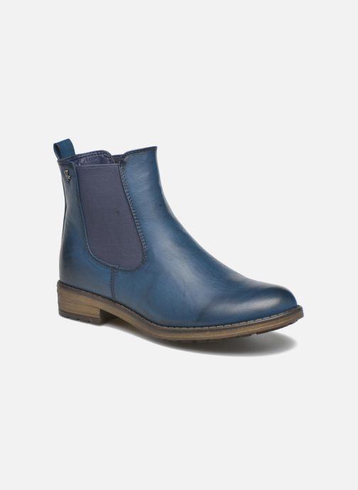 Bottines et boots Refresh Rain-61428 Bleu vue détail/paire