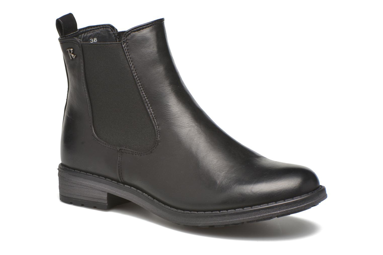 Bottines et boots Refresh Rain-61428 Noir vue détail/paire