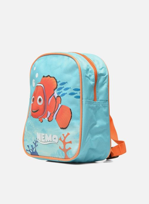 Sacs à dos Disney Sac à dos Nemo Bleu vue portées chaussures