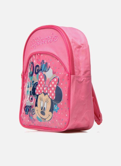 Rucksäcke Disney Sac à dos Minnie rosa schuhe getragen