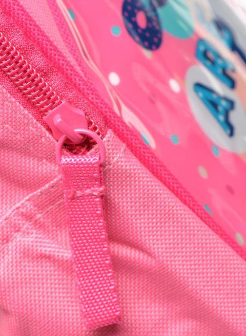 Rucksäcke Disney Sac à dos Minnie rosa ansicht von links