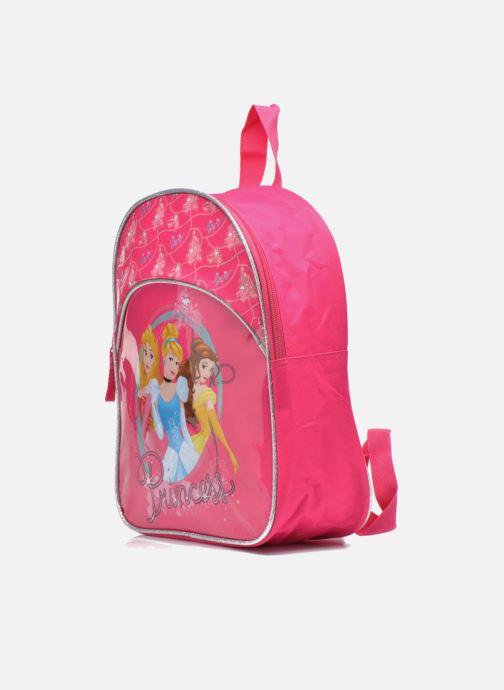 Sacs à dos Disney Sac à dos Princesses Rose vue portées chaussures