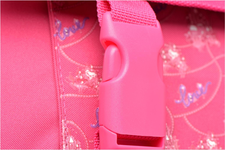 Scolaire Disney Cartable 35 cm Princesses Rose vue gauche