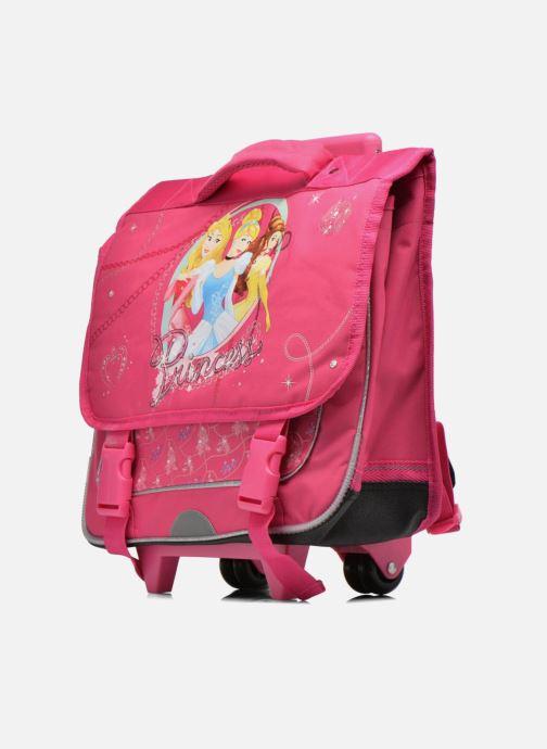 Bandoleras y Colegio Disney Cartable 38cm Trolley Princesses Rosa vista del modelo