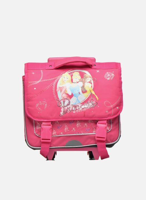 Schooltassen Disney Cartable 38cm Trolley Princesses Roze detail