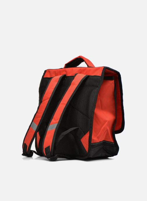 School bags Disney Cartable 35cm Cars Red view from the right