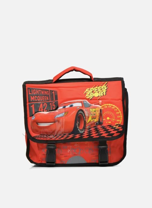 School bags Disney Cartable 35cm Cars Red detailed view/ Pair view