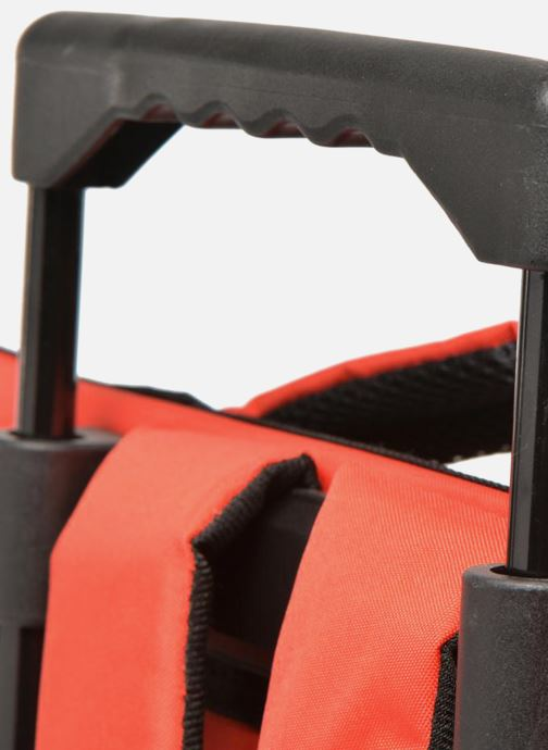 Scolaire Disney Cartable 38cm Trolley Cars Rouge vue gauche