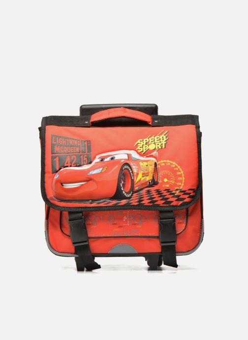 Scolaire Disney Cartable 38cm Trolley Cars Rouge vue détail/paire