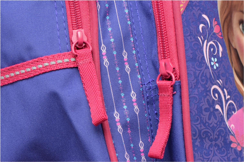 Zaini Disney Sac à dos Trolley Reine des neiges Azzurro immagine sinistra