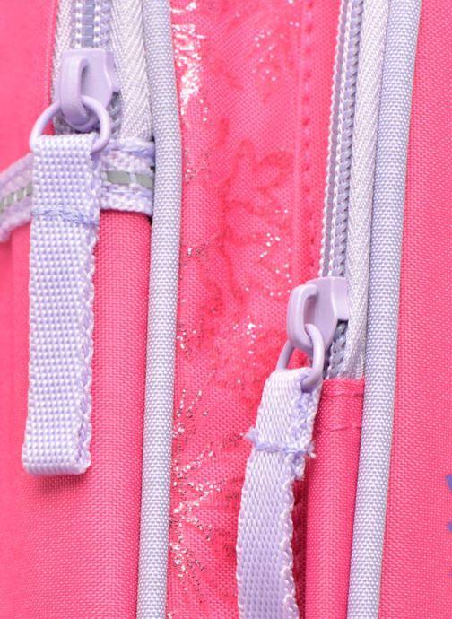 Mochilas Disney Sac à dos Reine des neiges Rosa vista lateral izquierda