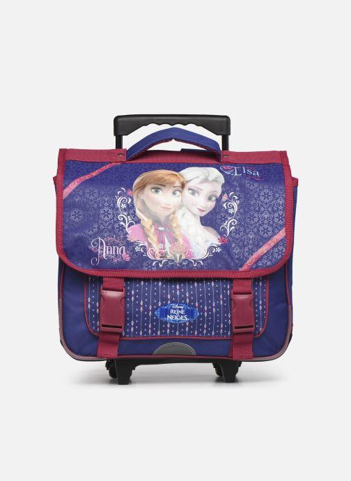 School bags Disney Cartable 38cm Trolley Reine des neiges Purple detailed view/ Pair view