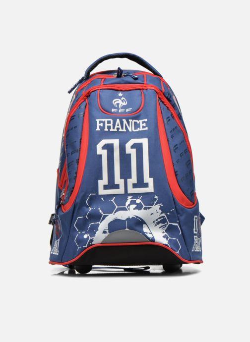 Scolaire FOOTBALL CLUB Sac à dos Trolley Euro 2016 Bleu vue détail/paire