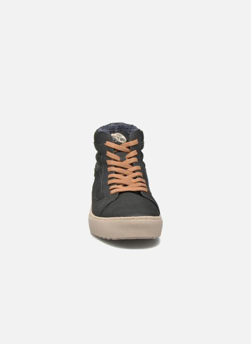 Sneaker Vans Sk8-Hi MTE CUP schwarz schuhe getragen