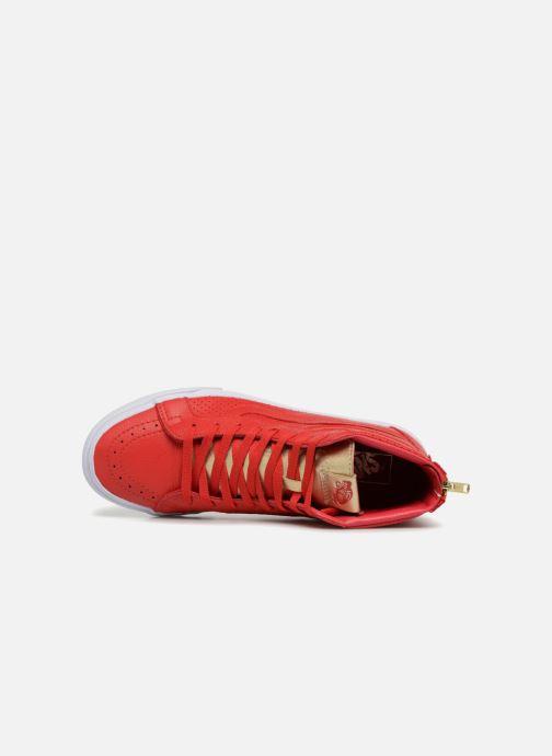 Sk8 Baskets Vans hi Reissue Red gold Zip N0v8wmn